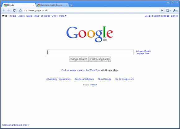 make-google-homepage