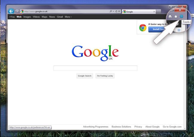 make-google-my-homepage